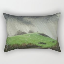 View To Dorsmouth Rock Rectangular Pillow