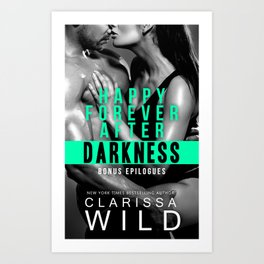 Happy Forever After Darkness - Cover Art Print