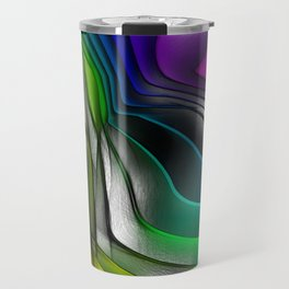 COLOR COVERGECE ABSTRACT Travel Mug