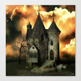 Stranded Manor Canvas Print