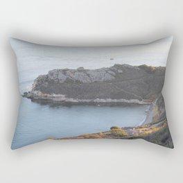 Pismo Beach Pirate's Cove view from Avila Ridge Hike Rectangular Pillow