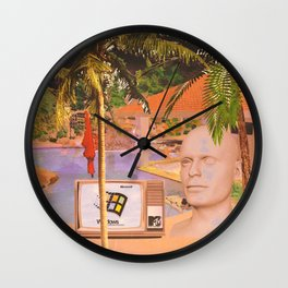 ΔSTRΔL ISLΔND Wall Clock