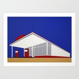 Gas Station 27 Art Print