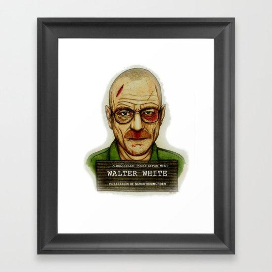 Breaking Bad. Framed Art Print