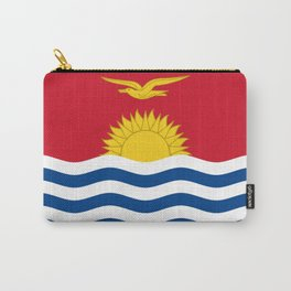 Kiribati Flag Carry-All Pouch
