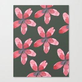 Tropica Pink Canvas Print