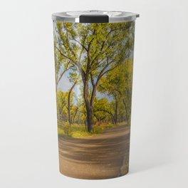 Cottonwoods, Theodore Roosevelt NP, ND 1 Travel Mug