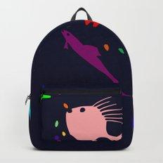 Rainbow Ocean Backpack