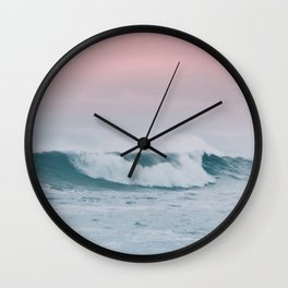 Pale ocean Wall Clock