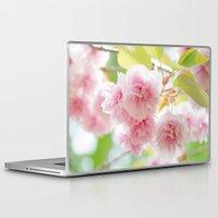 sakura Laptop & iPad Skins featuring sakura by yumehana design fine art photography