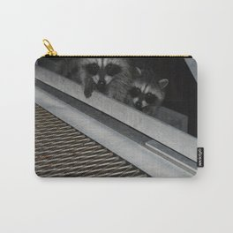 Baby Racoons Carry-All Pouch