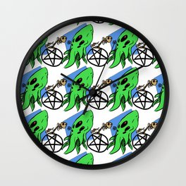 Monster Maddness Wall Clock