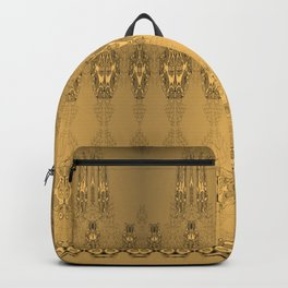 Golden Pattern Golden Luxury Week Tuesday Backpack