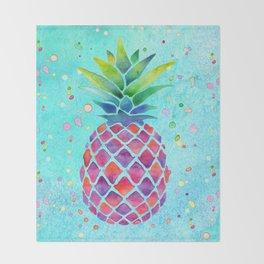 Pineapple Crush Throw Blanket