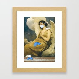 Sisters of Mercy Framed Art Print
