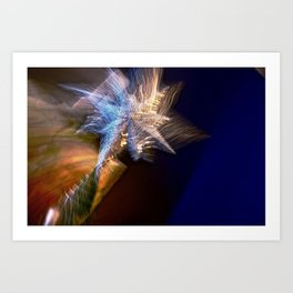 Abstract Star Of Wonder Art Print