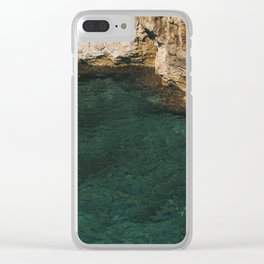 Under the wall Clear iPhone Case