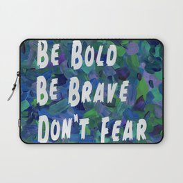 Be Bold in Blue Laptop Sleeve