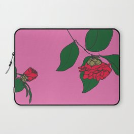 Red Camellia Laptop Sleeve