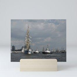 On the water Mini Art Print