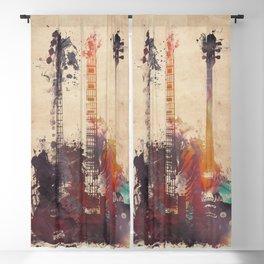 guitars 3 Blackout Curtain