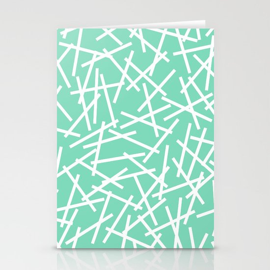 Kerplunk Mint Stationery Cards