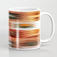 triangle Mugs featuring Triangle by Fine2art