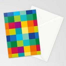 Artist Color Palette Stationery Cards
