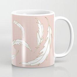 Come fly with me blush illustration Coffee Mug