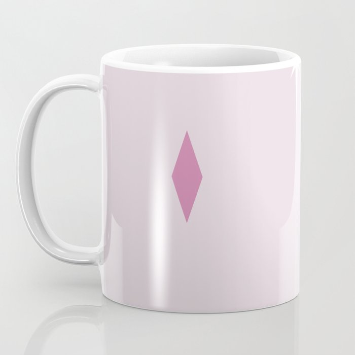 Pink Mid Century Pattern Coffee Mug