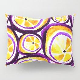 Sweet Plum Lemon Pillow Sham