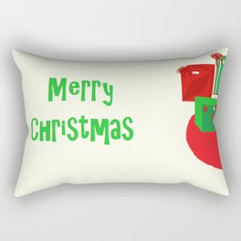 Gifts Under the Tree Rectangular Pillow