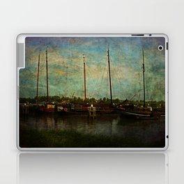 Historical Harbor Woudrichem The Netherlands Laptop & iPad Skin