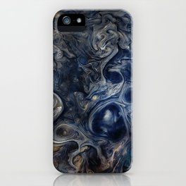 Jupiter Blues iPhone Case