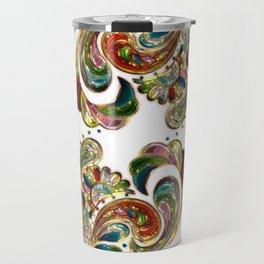 Liquid Bling Paisley Tattoo Travel Mug