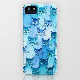 Alaska Whimsical Cats iPhone Case