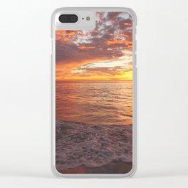 Inspirational Sunset by Aloha Kea Photography Clear iPhone Case
