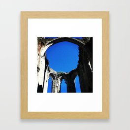 Old Church Walls Framed Art Print