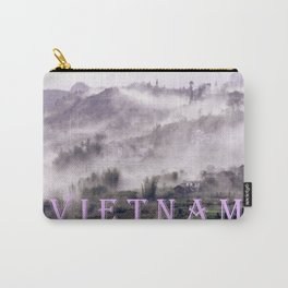 FOGGY FOREST in the VIETNAMESE MOUNTAIN Carry-All Pouch