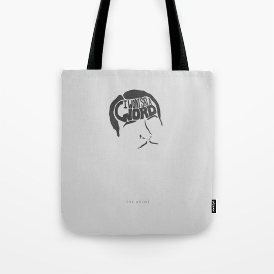 I Won't Say a Word! -The Artist Tote Bag