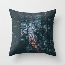 Tokyo 62 Throw Pillow