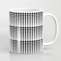 arrows Mugs featuring Arrows by Elisabeth Fredriksson