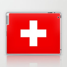 Flag of Switzerland 2x3 scale Laptop & iPad Skin