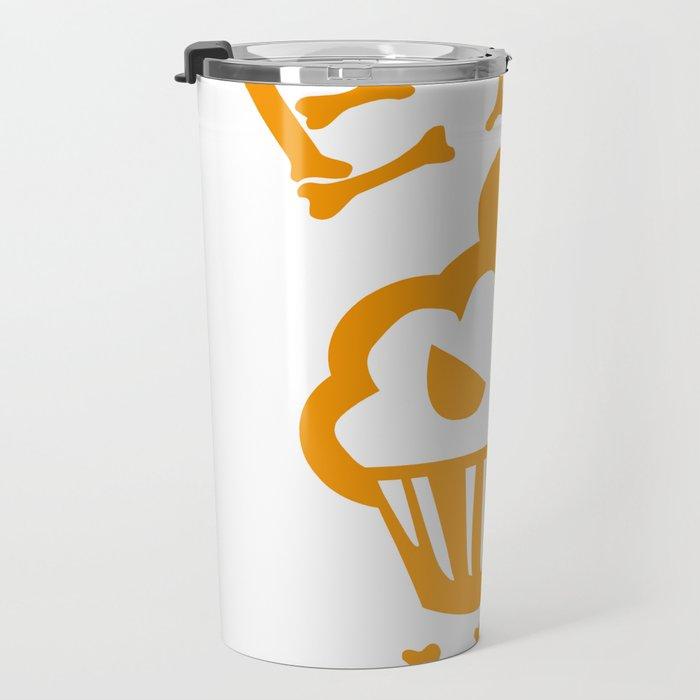 Eat me yellow version Travel Mug