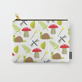 Fairy Garden Pattern 1 Carry-All Pouch