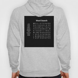 Word Search Goals for Life Hoody