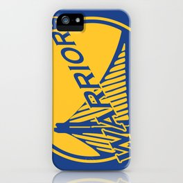 Golden State blue basketball logo iPhone Case