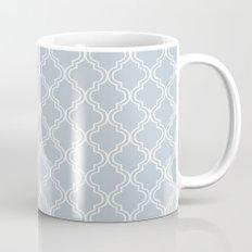 BlueGray Moroccan Mug