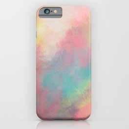 Abstract painting - Serenity in Solitude iPhone Case