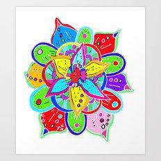 Mandala II Art Print